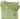 Stor skinnväska grön 181 med blommigt foder