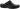 Siv svart träsko m fällbar rem o resårer