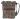 Citybag skinn/brokadväska grå med blommigt foder